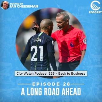 Podcast Appearance: City Watch E28 – 'A Long RoadAhead'