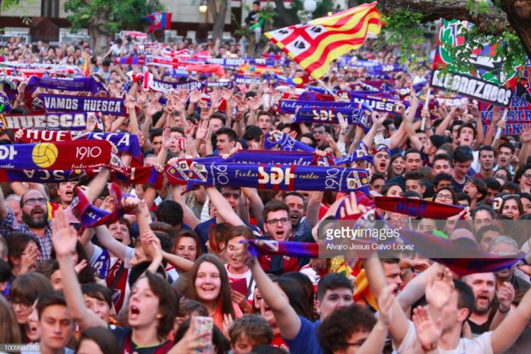 Who Are Ya? Meet Huesca, Barca's opponents taking La Liga bystorm